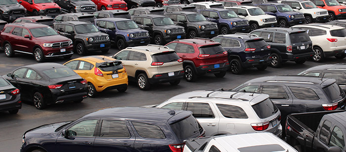 Picture of a Car Lot